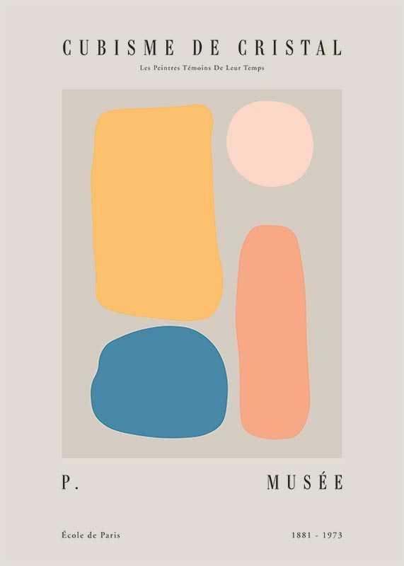 Picasso Quatre Cubisme-1
