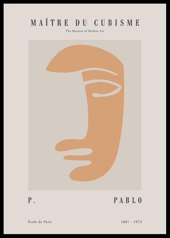 Picasso Maitre Du Cubisme No3-0