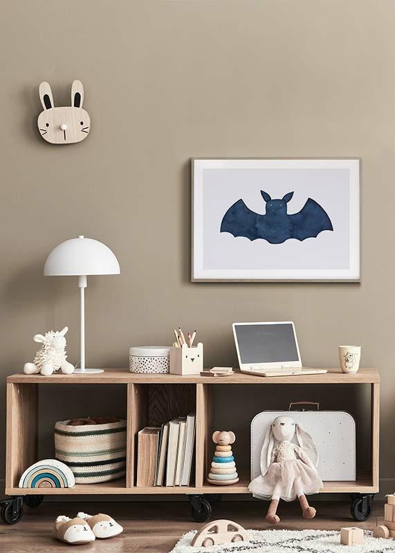 Watercolor Bat-4