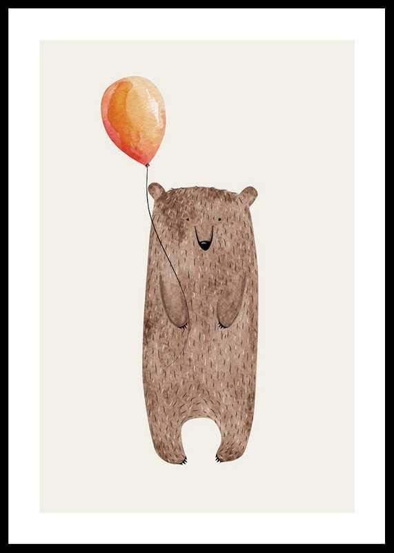 Bear With Balloon