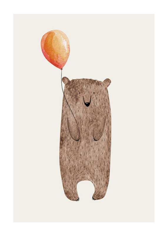 Bear With Balloon-1