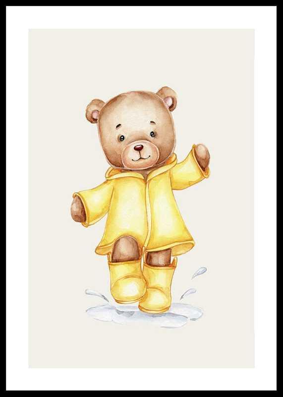 Raincoat Teddy