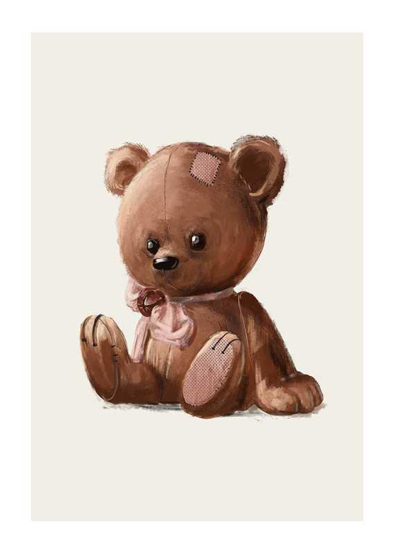 Brown Teddy-1