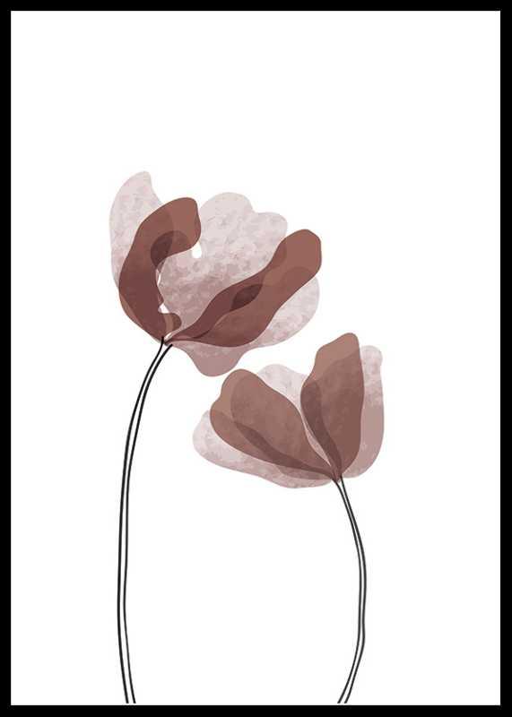 Watercolor Flowers No1-0