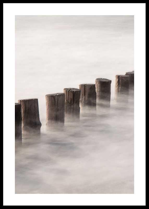 Piles In Fog