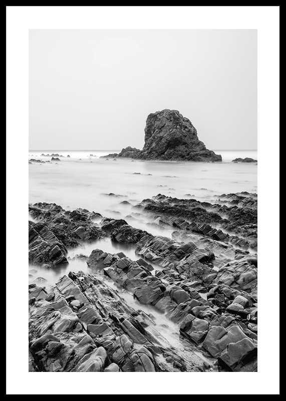 Sea Cliffs BW